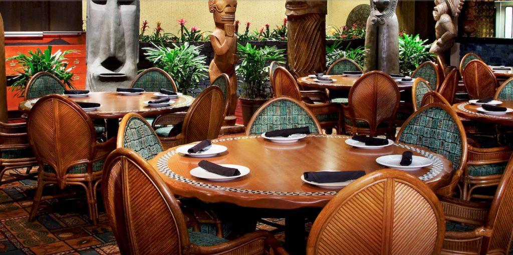 Disney's Polynesian Village Resort- 'Ohana New Hawaiian Family-Style Menu