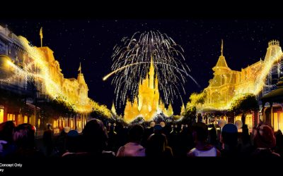 """All New """"Disney Enchantment"""" Fireworks at Magic Kingdom and Harmonious to Start October 1st"""