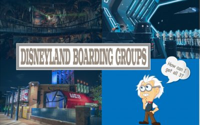 How Do I Get a Boarding Group for WEB Slingers, Rise of the Resistance, and Indiana Jones at Disneyland?