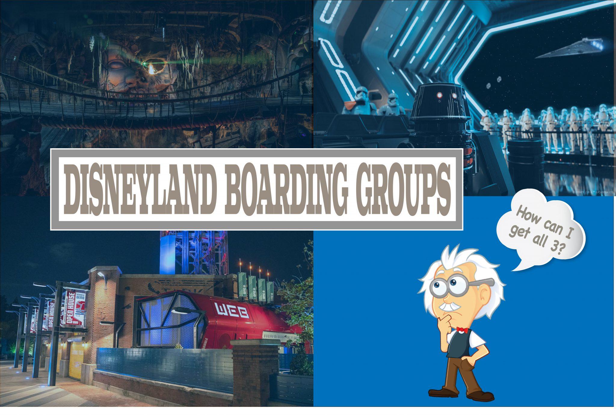 Disneyland Boarding Groups