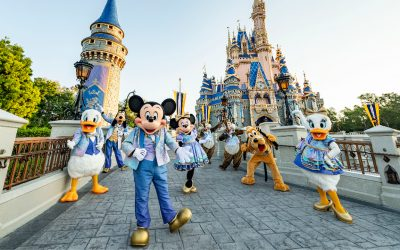 Disney Debuts All of the EARidescent Character Outfits For The 50th Anniversary
