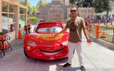 Up-Close and Personal Lightning McQueen Meet and Greet is Back at Disney California Adventure