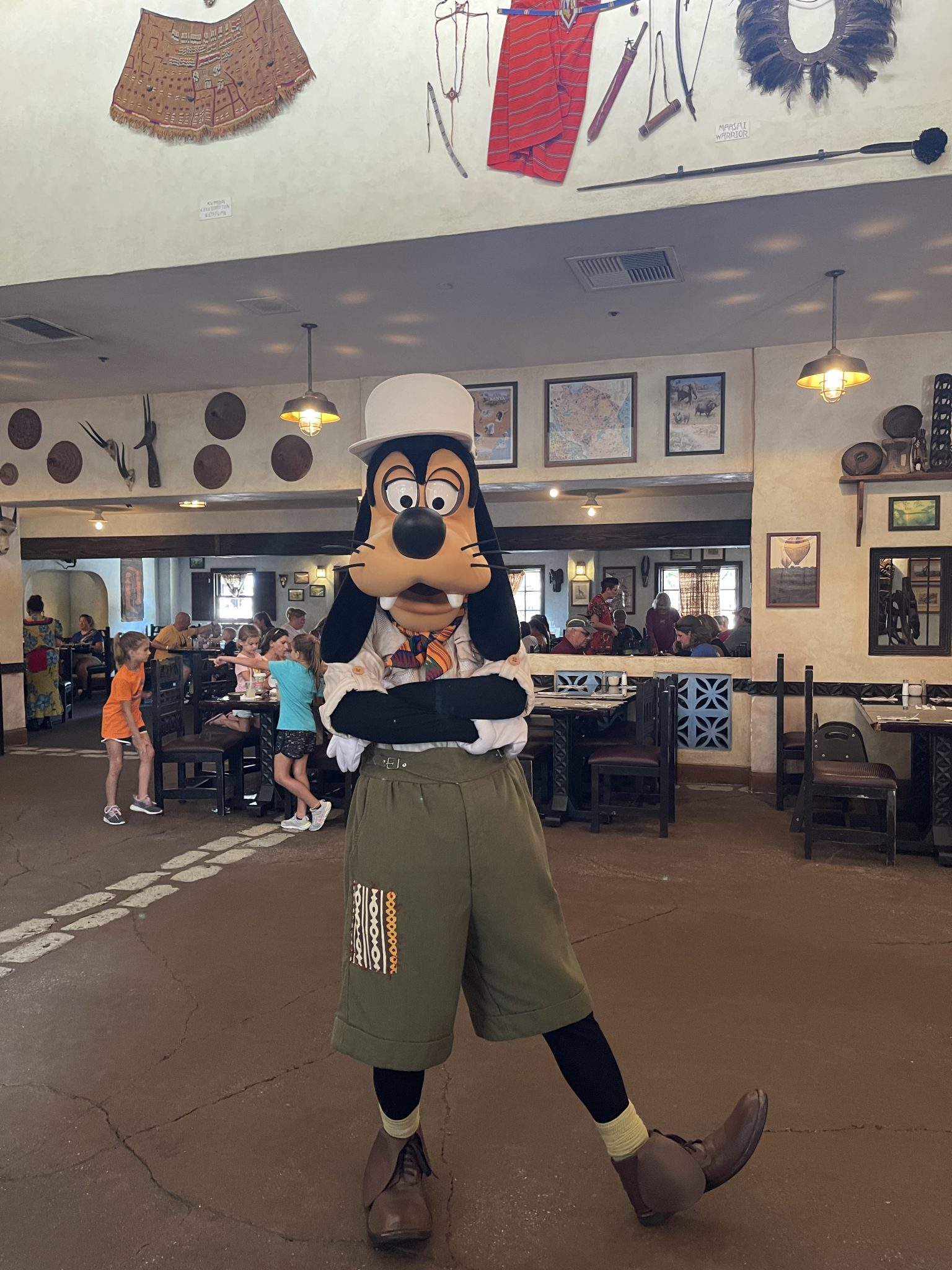 Tusker House Lunch - Goofy