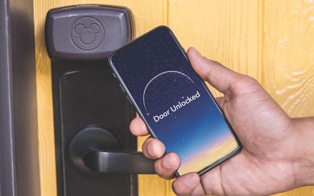 Disneyland Resort Hotels Now Offer a Digital Key Option