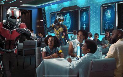 'Avengers: Quantum Encounter' Debuting at Worlds of Marvel Aboard the Disney Wish