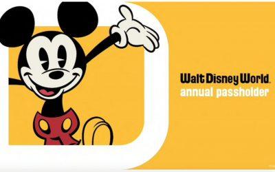 Walt Disney World Annual Passes are BACK