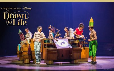 Cirque du Soleil & Disney Announce Ticket On-Sale Date for Drawn to Life at Disney Springs