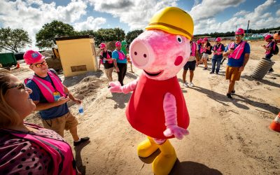 Peppa Pig Theme Park's Opening Date Announced