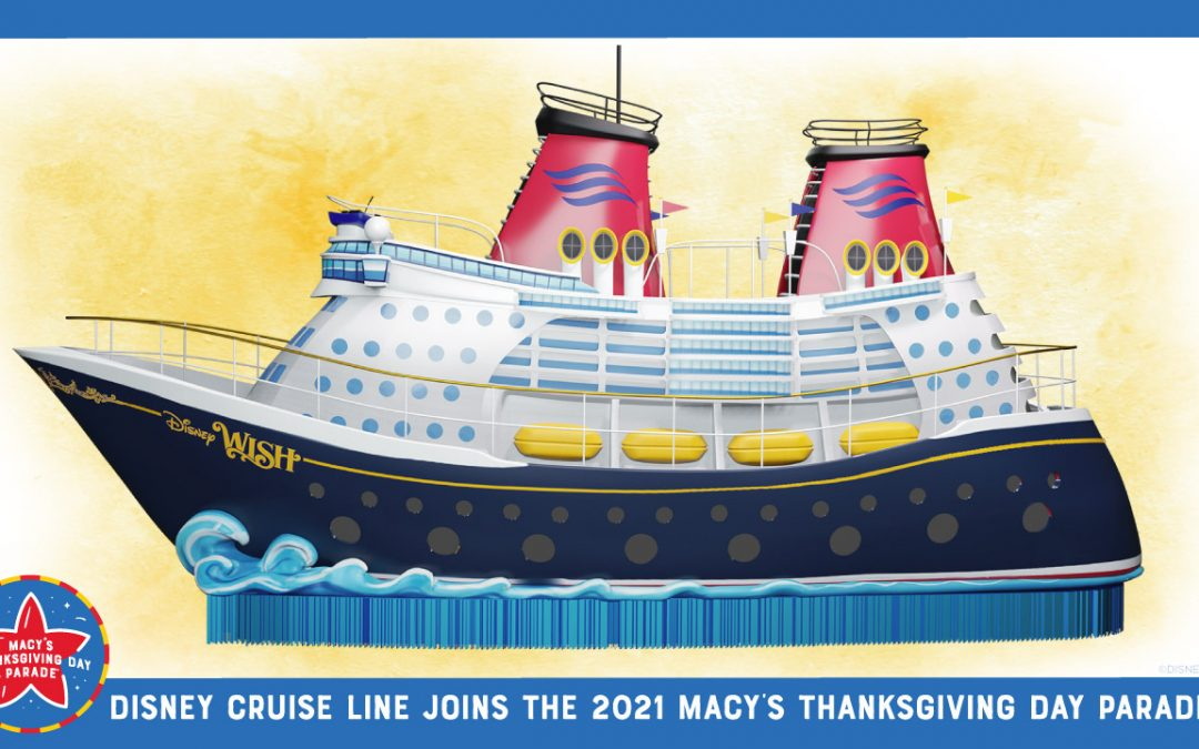 Disney Cruise Line to Debut Float in Macy's Thanksgiving Parade
