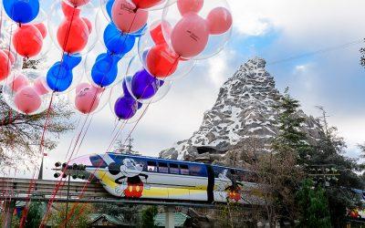 Disneyland Monorail is Back
